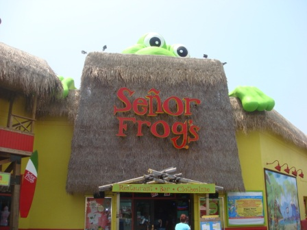 Senor frogs MB