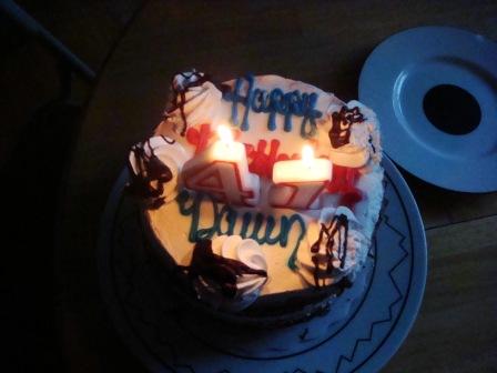 41st cake