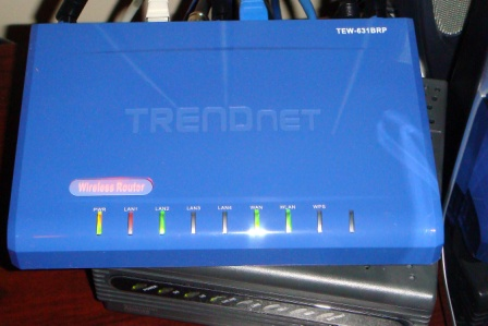 Our new router